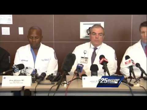 Staff of Parkland Memorial Hospital discusses Dallas shooting