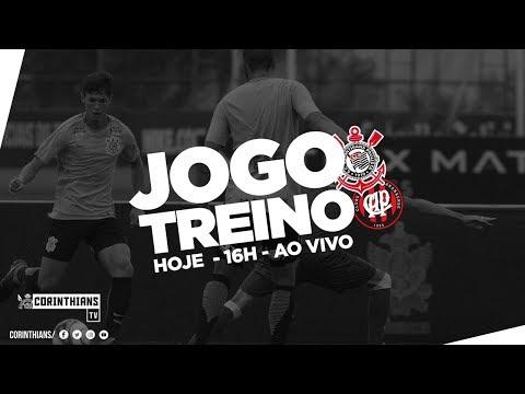 AO VIVO - Corinthians 0 x 0 Atlético-PR | Jogo-treino
