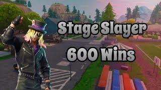New Stage Slayer Skin | 600+ Wins | Fortnite PS4 Livestream