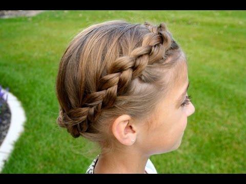 The Crown {Carousel} Braid   Updos   Cute Girls Hairstyles