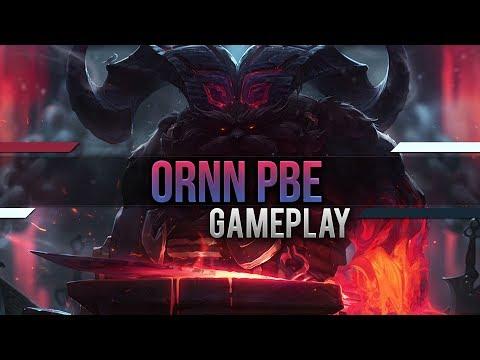 Ornn Full PBE Gameplay [League of Legends] [PBE] [Deutsch  / German]