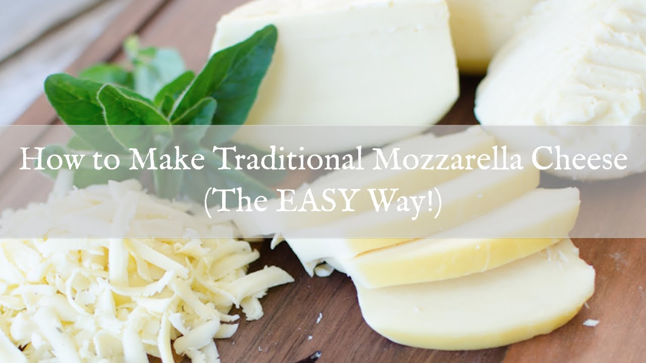 How to make mozzarella cheese at home in tamil
