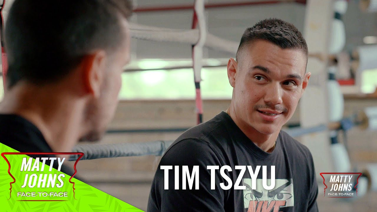 "Matty Johns Face-to-Face I Tim Tszyu I ""I'm here to become the best so that I can rest in my grave"""