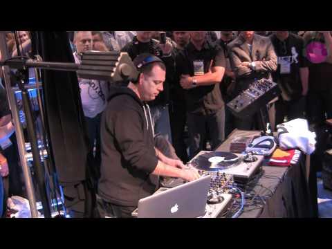 DJ Z-Trip Performs on the new Rane Sixty-Two Z at NAMM 2012 | agiprodj.com - NAMM 2012