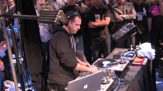 DJ Z-Trip Performs on the new Rane Sixty-Two Z at NAMM 2012 | agiprodj.com - NAMM 2012