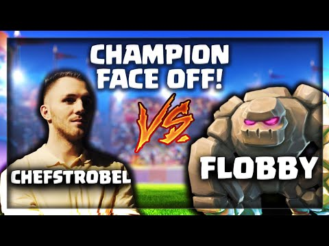 GERMAN CHAMPION FACE OFF VS PRO PLAYERS   Flobby vs. Chefstrobel Bo5   Clash Royale
