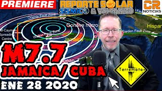 TERREMOTOS M7.7 Y 6.1 EN CUBA JAMAICA E ISLAS CAIMANES - ALERTA SÍSMICA EN MAR CARIBE - ALEX BACKMAN