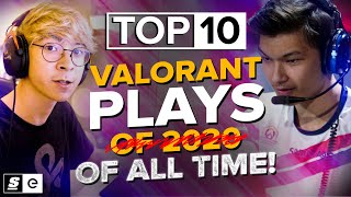 The Top 10 M๐st Insane Valorant Plays EVER