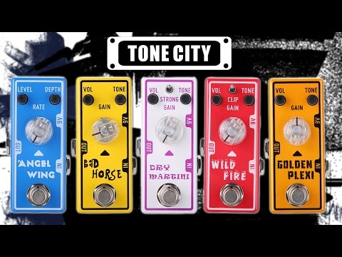 Tone City Pedals - Mini Size, Mini Price, Massive Tone!