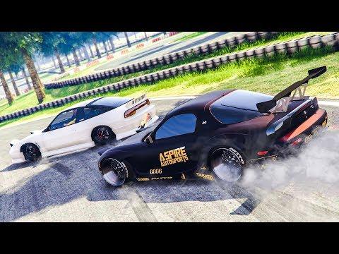 INSANE GTA 5 ONLINE DRIFTING! - (GTA 5 FiveM Drift Server)