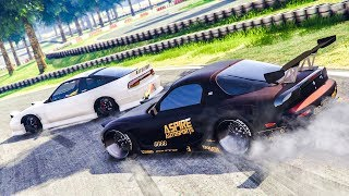 INSANE GTA 5 ONLINE DRIFTING! - (GTA 5 FiveM Drift Server)