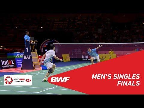 F | MS | NG Ka Long Angus (HKG) Vs. CHOU Tien Chen (TPE) [3] | BWF 2019