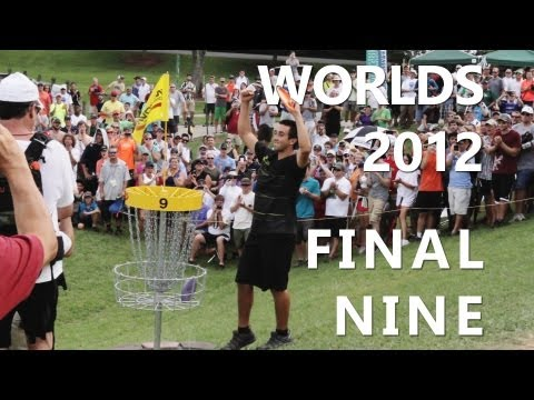Paul McBeth 1st World Title   2012 Worlds Final 9   Schusterick,Wysocki,Johansen