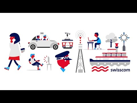 Explainer Video: Swisscom: Data-Security  (English Version)