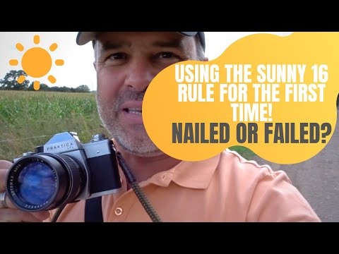 Using The Sunny 16 Rule For The First Time.....Nailed Or Failed?