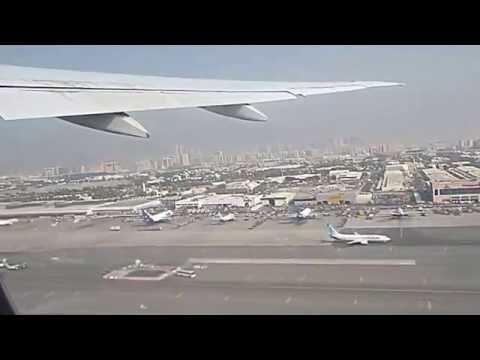 Emirates flight EK 105 - Dubai to Athens