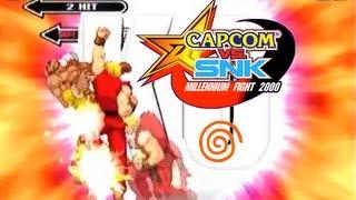 Capcom Vs. SNK: Millenium Fight 2000 playthrough (Dreamcast)
