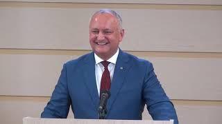 Președintele  Gor Dodon Despre învestirea Judecătorilor De La Curtea Constituțională