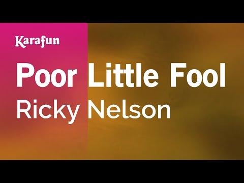 Karaoke Poor Little Fool - Ricky Nelson *