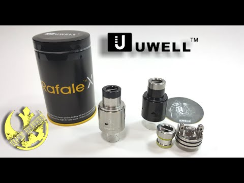 Rafale X RDA with new innovative Neutral Post | Giveaway | Uwell
