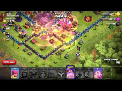Clash of Clans - Haste Spell Testing + Speedy Goblins! (New Update)