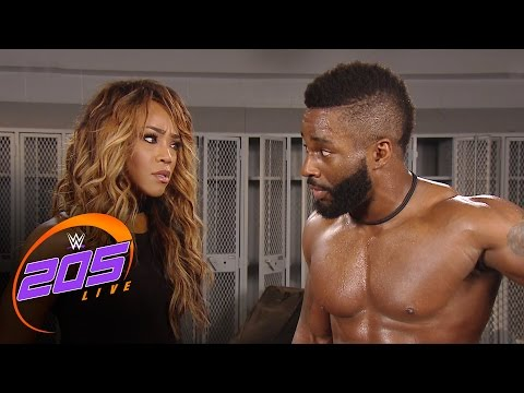 Cedric Alexander breaks up with Alicia Fox: WWE 205 , Jan 10, 2017