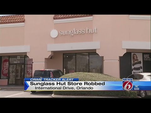 Police Search For Suspects In Sunglass Hut Robbery On International Drive