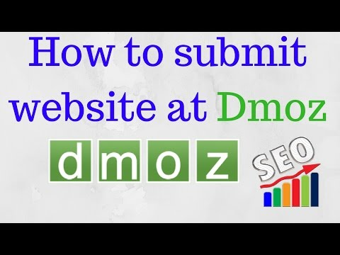 SEO Tutorials: How to Submit a Website to DMOZ | Dmoz directory submission  [Hindi]