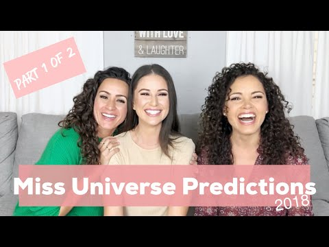 Miss Universe Predictions 2018 | (1 of 2) | Top 5 faves, plu