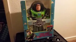 Disney's Toy Story - Buzz Lightyear Action Figure 1995 - Video Review | Pilot Episode