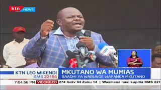 Viongozi wa Tanga tanga Magharibi mwa Kenya wazuiliwa kuingia katika kiwanda cha Nzoia