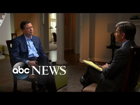 James Comey Part 1: Telling Trump about the 'dossier'