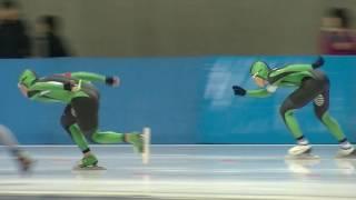 (speed skating) 2016 帯広の森スピードスケート競技会 男子M1000m 008