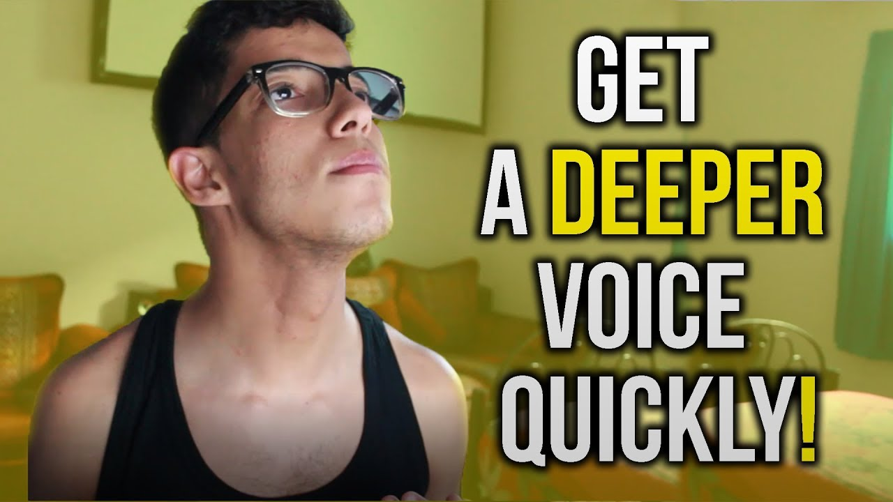 How To Have A Deeper Voice - slidedocnow