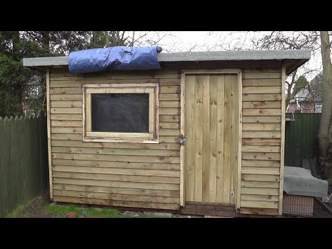 DIY Man Cave / She Shed – Part 19 – Making The Window