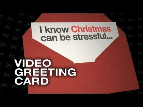 I Know Christmas Can Be Stressful  Video Greeting Card  Christmas HD