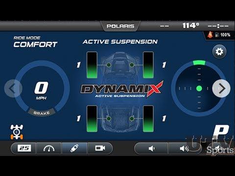 Polaris DYNAMIX Active Suspension Technology