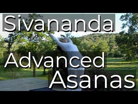 Advanced Sivananda Asana Class | Sivananda Ashram Yoga Farm in California