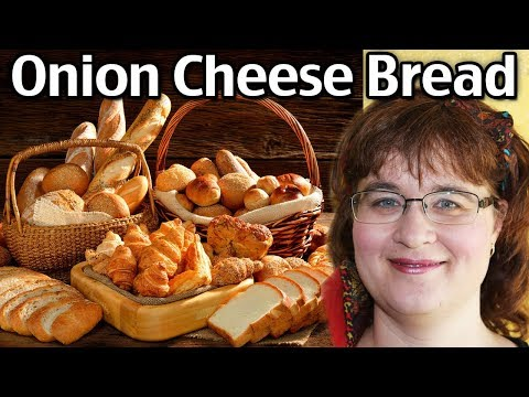 How To Make Easy Onion Cheese Bread!