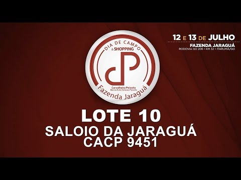 LOTE 10 (CACP 9451)