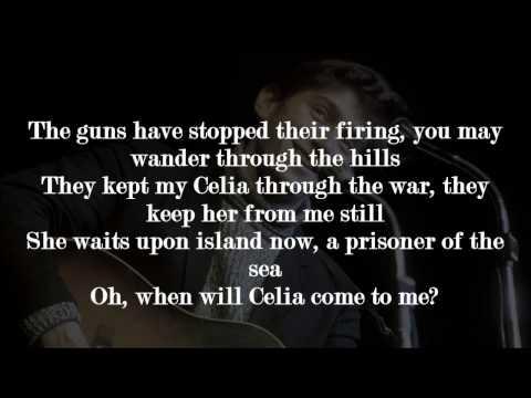 Phil Ochs - Celia (Lyrics)