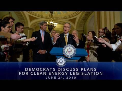 Democrats Discuss Plans for Clean Energy Legislation