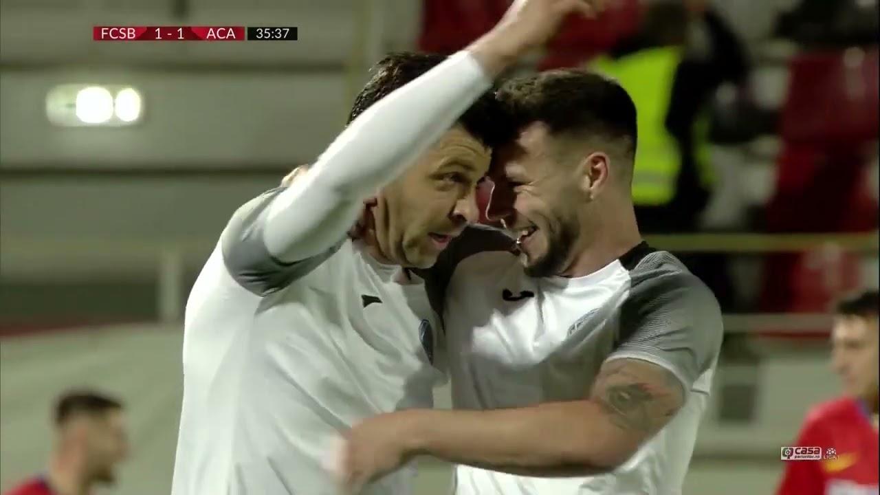 REZUMAT | FCSB - Academica Clinceni 2-2 | Play-off, Etapa 7, Liga 1, 2020-2021