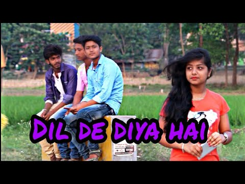 Dil de diya hain || Heart touching song || The crazy Anik || Love song|| sampreet Dutta oporadhi