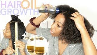 DIY MAXIMUM Hair GROWTH Oil + Hair Growth Challenge | T'keyah B
