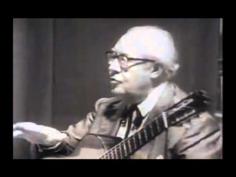 The Segovia Master Class in Spain - Classical Guitar Masterclass - Andres Segovia