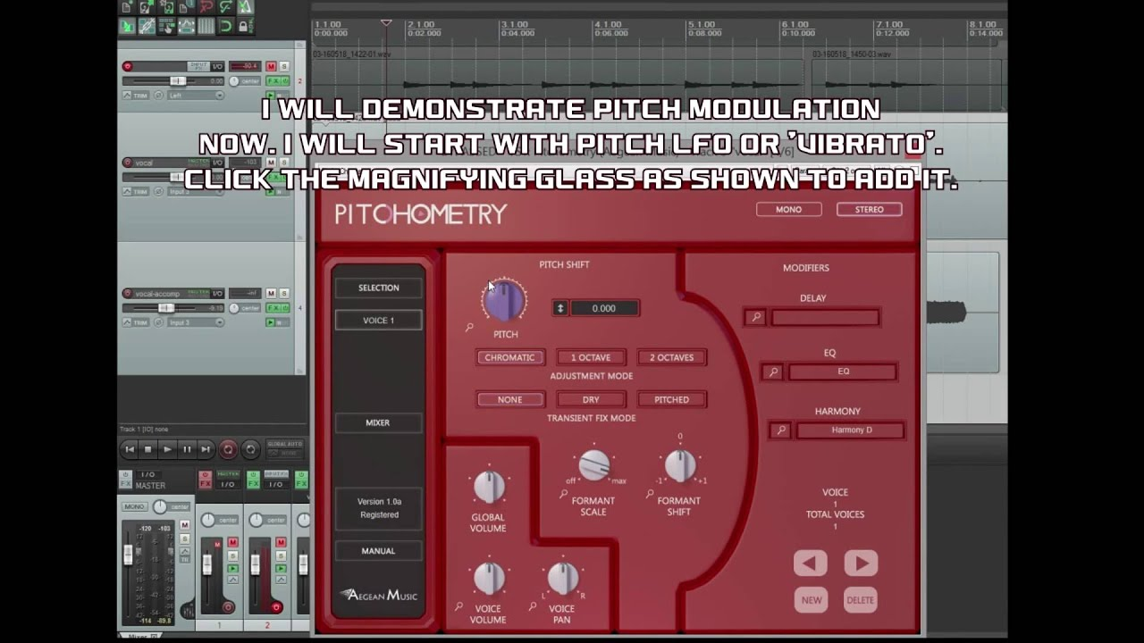 Pitchometry: Multi Voice Pitch Effects Done Right - Aegean Music
