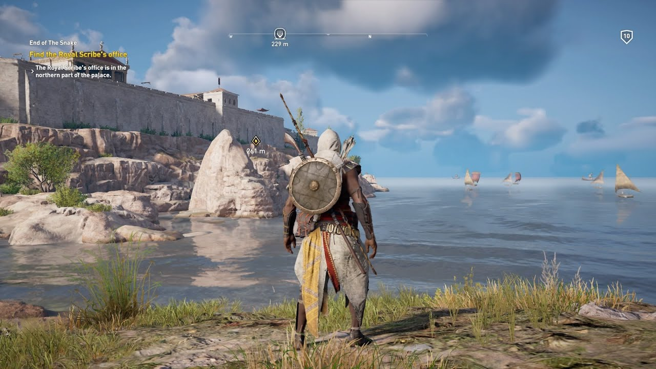 Assassin's Creed - Origins végigjátszás 03. rész - Bayek előretörése