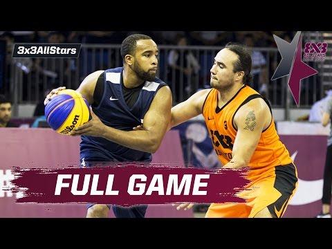 Saskatoon v NY Harlem NBA - Quarter Final Full Game - 2016 FIBA 3x3 All Stars