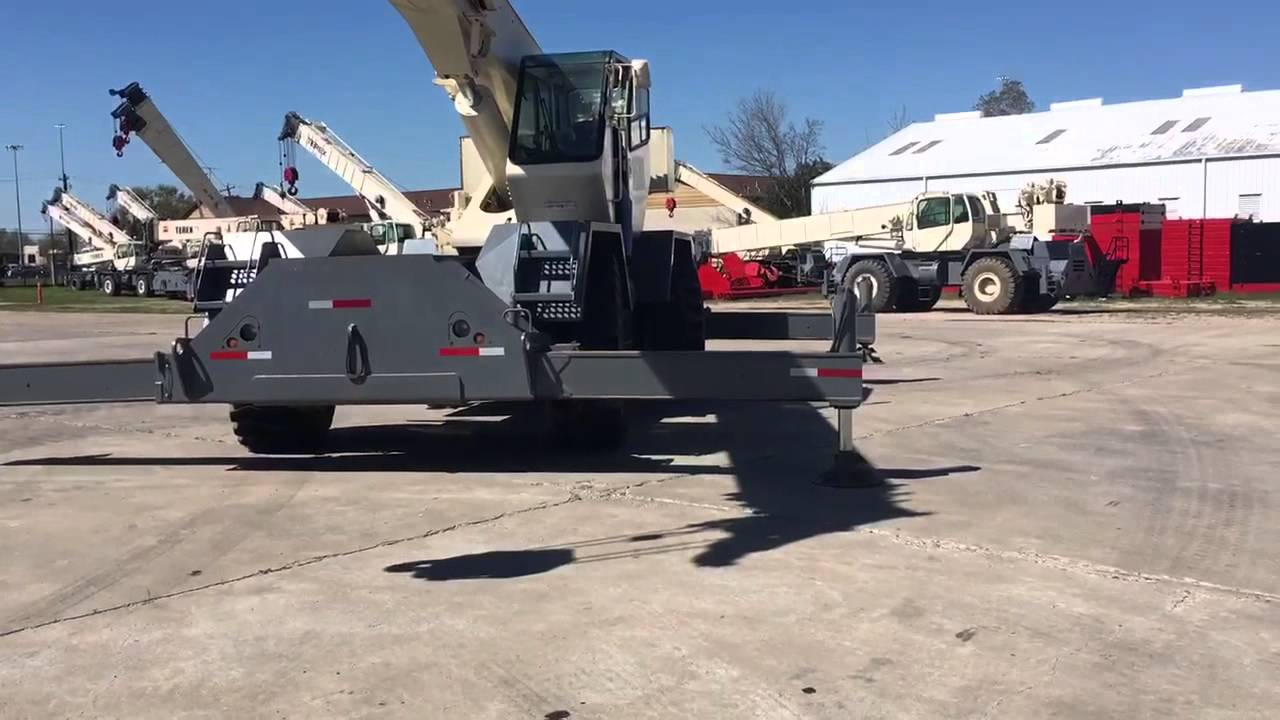 Construction Videos - 1999 Terex RT335 for sale by Machinery